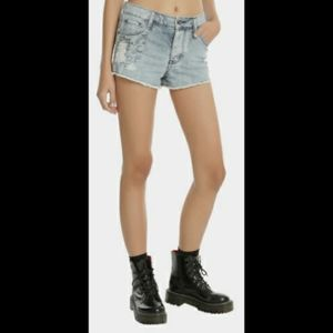 Black Heart Hot Topic High-rise shorts